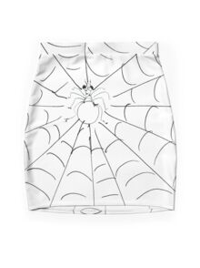 SPIDER(C2007) Mini Skirt