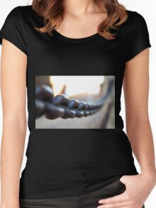 Focal Link Women's Fitted Scoop T-Shirt