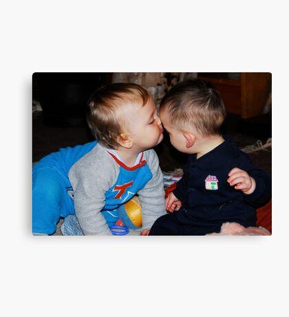 Kissing Cousins Canvas Print