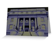 capital wing Greeting Card