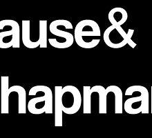 Orange Is The New Black - Vause & Chapman by chuckshurley