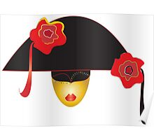 venice mask  Poster