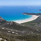 Tidal River and Norman Bay Panorama by Will Hore-Lacy