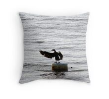 Maestro Comorant Throw Pillow