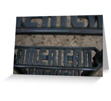 American Greeting Card
