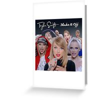 Shake It Off Taylor Swift  Greeting Card