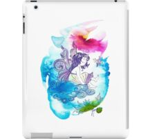 """With the Head in the Clouds"" from the series: ""Angels of Protection"" for Kids iPad Case/Skin"
