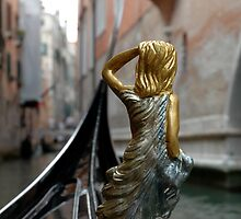 Guardian Angel, Venice, Italy by Trish Kinrade