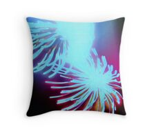 sea or sky or land? Throw Pillow