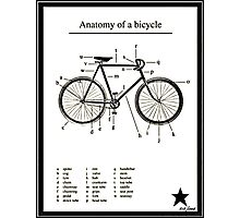 Anatomy Of A Bike! Photographic Print