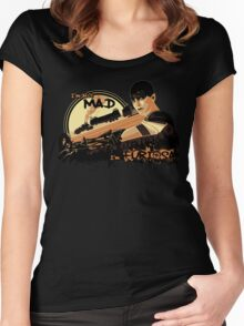 I'm not Mad... Women's Fitted Scoop T-Shirt