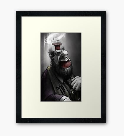 Pope of Surgery Minor Framed Print