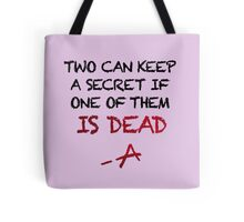 PLL Theme Song (Pretty Little Liars) Tote Bag