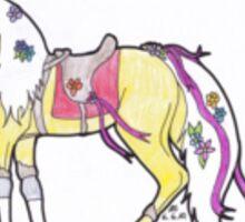 Carneval horse Sticker