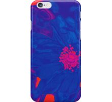 Electric Blue Poppy iPhone Case/Skin