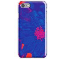 Electric Blue Poppy iPhone Case/Skin