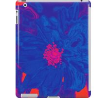 Electric Blue Poppy iPad Case/Skin