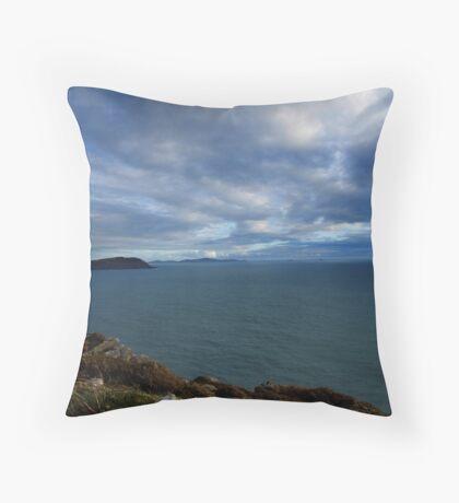 Sky, Ocean, Islands - Kerry, Ireland Throw Pillow