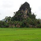 rock mountain by piratesdreaming