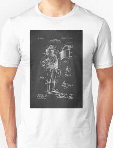 Firefighter Uniform Patent 1905 Unisex T-Shirt
