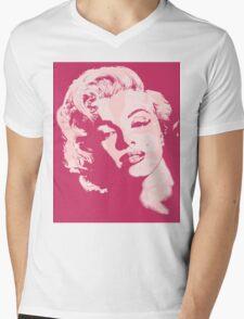 Marilyn in Marilyn Mens V-Neck T-Shirt