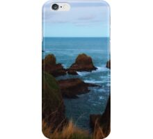 North Sea, Cruden Bay - From Slains Castle - North East coast of Aberdeenshire, Scotland iPhone Case/Skin