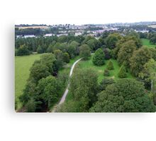 Blarney Castle Grounds & Blarney Town, Cork, Ireland Canvas Print