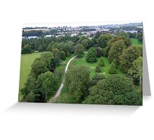 Blarney Castle Grounds & Blarney Town, Cork, Ireland Greeting Card