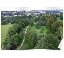 Blarney Castle Grounds & Blarney Town, Cork, Ireland Poster