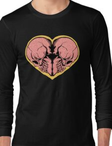 Valentines Day of the Dead Long Sleeve T-Shirt