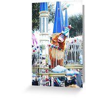 Parade Nap Greeting Card