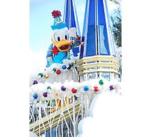 Donald Duck Photographic Print