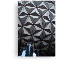 Epcot Sphere Canvas Print