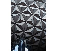 Epcot Sphere Photographic Print