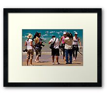 Winners are Grinners - Lorne Pier to Pub Framed Print