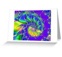 Seaweed Swirl Greeting Card