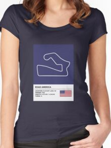 Road America - v2 Women's Fitted Scoop T-Shirt