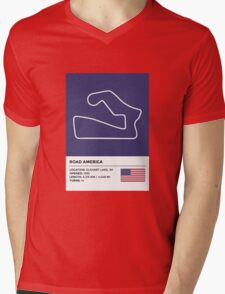 Road America - v2 Mens V-Neck T-Shirt