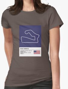Road America - v2 Womens Fitted T-Shirt