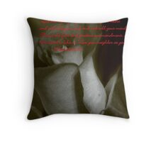 THE GREATEST COMMAND Throw Pillow