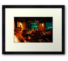Lunchtime Framed Print