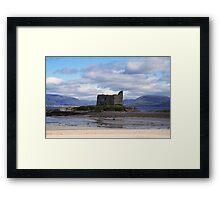 Ballinskelligs Castle -  Ballinskelligs, Kerry, Ireland. Framed Print