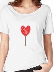 Lollipop Heart Women's Relaxed Fit T-Shirt