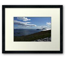 Sky meets Ocean - Kerry, Ireland Framed Print