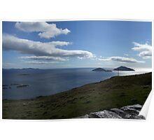 Sky meets Ocean - Kerry, Ireland Poster
