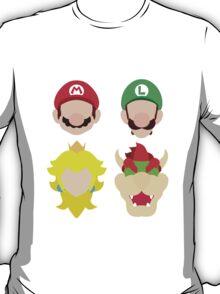 Super Mario Characters T-Shirt
