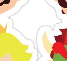 Super Mario Characters Sticker