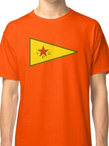 Flag of the People's Protection Units  Classic T-Shirt