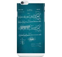 Vintage Hair Cutting Scissors Patent 1954 iPhone Case/Skin