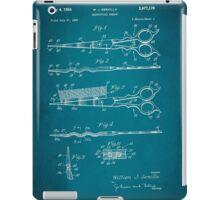 Vintage Hair Cutting Scissors Patent 1954 iPad Case/Skin